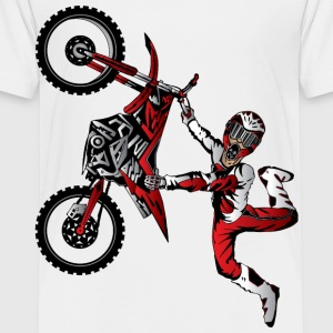 Stunt Dirt Biker Kids' Shirts - Toddler Premium T-Shirt