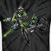 Kawasaki Freestyle Dirt Bike T-Shirts - Unisex Tie Dye T-Shirt