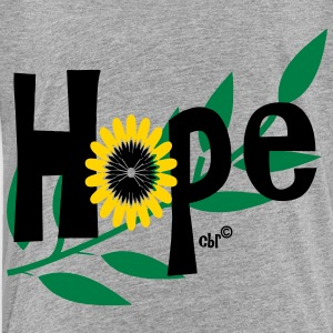 hope_with_sunflower and leafs Sweatshirts - Toddler Premium T-Shirt