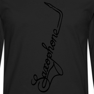 The Saxophone T-Shirts - Men's Premium Long Sleeve T-Shirt