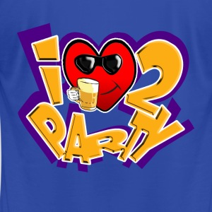 I Love To Party Hoodies. TM - Men's T-Shirt by American Apparel