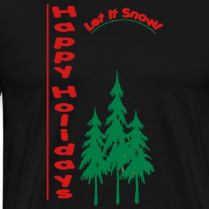happy_holidays3 Hoodies - Men's Premium T-Shirt