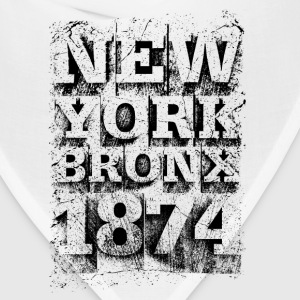 New York Bronx 1874 (black) - Bandana