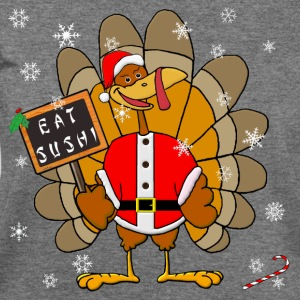 Christmas Turkey T-Shirts - Women's Wideneck Sweatshirt