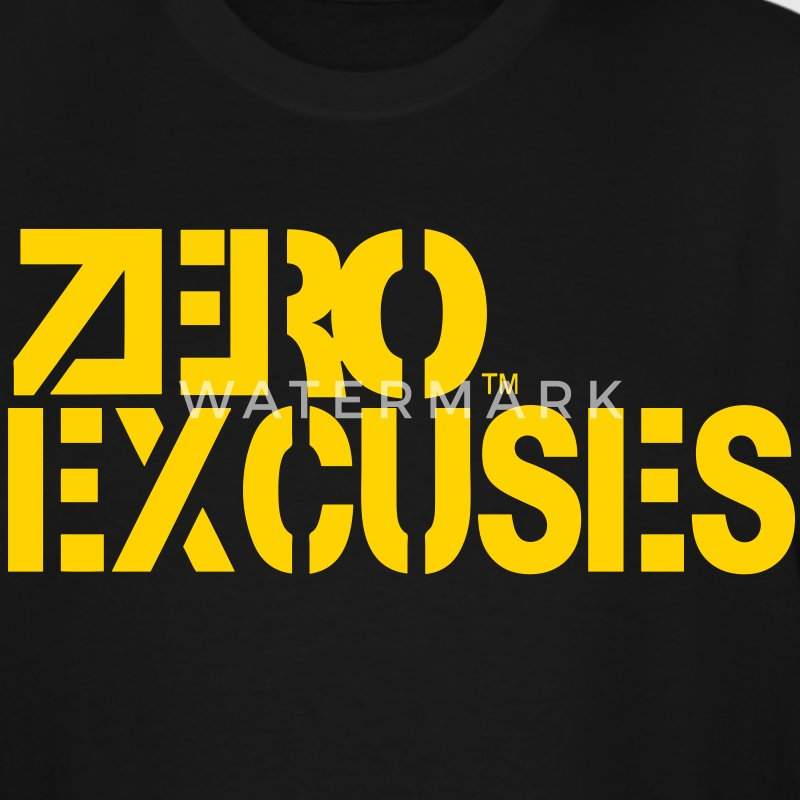 ZERO EXCUSES T-Shirts - Men's Tall T-Shirt