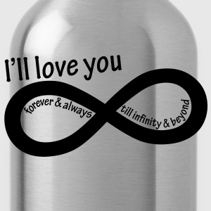 ill_love_you_till_infinity - Water Bottle
