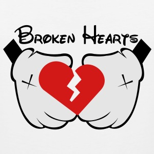 broken_hearts - Men's Premium Tank