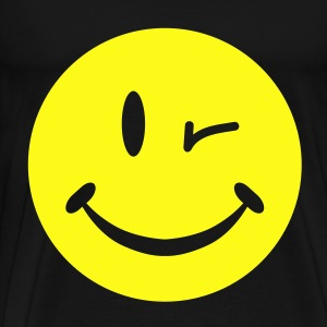 Blinking Smiley Bags  - Men's Premium T-Shirt