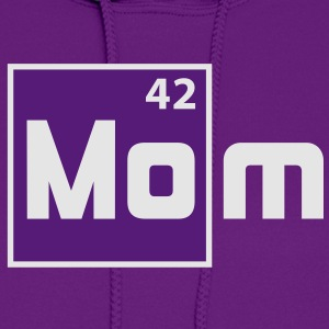 MOM - Mother Periodic Elements Design T-Shirt FW - Women's Hoodie