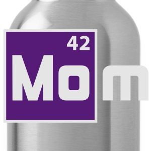 MOM - Mother Periodic Elements Design T-Shirt FW - Water Bottle