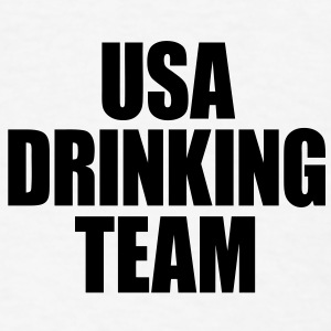USA Drinking Team iPad Cases - stayflyclothing.com - Men's T-Shirt