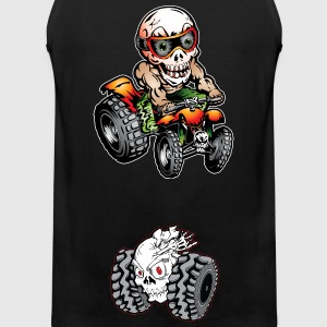 Off-Road ATV Skull Rider Hoodies - Men's Premium Tank