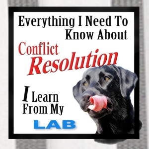 Lab Conflict Resolution Mug - Contrast Hoodie