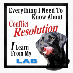 Lab Conflict Resolution Mug - Men's Premium Long Sleeve T-Shirt