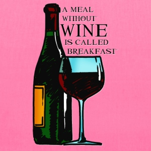 Wine Breakfast - Tote Bag