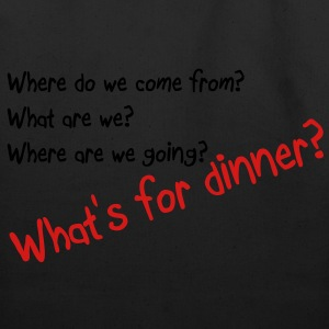 What's for dinner T-Shirts - Eco-Friendly Cotton Tote