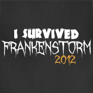 I survived Frankenstorm 2012 Women's T-Shirts - Adjustable Apron