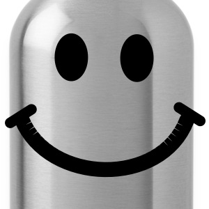 Happy Smiley Face T-Shirts - Water Bottle
