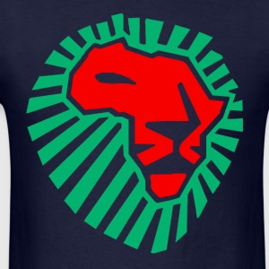 African Lion Head Hodie - Men's T-Shirt