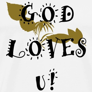 God Love's U! - Men's Premium T-Shirt