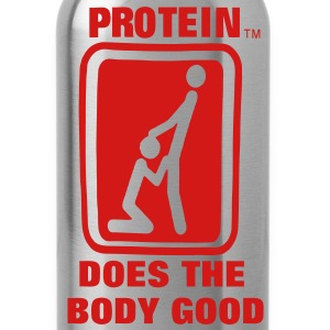 Protein Does The Body Good T-Shirts - Water Bottle