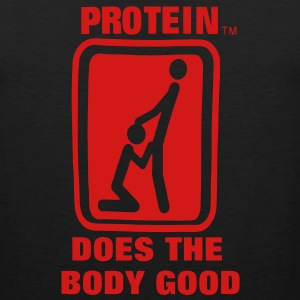 Protein Does The Body Good Hoodies - Men's Premium Tank