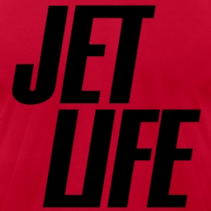 Jet Life Hoodies - Men's T-Shirt by American Apparel