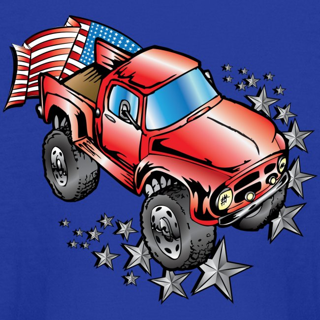 U.S.A. Ford F100 Monster Truck