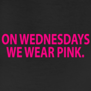 on wednesday we wear pink Women's T-Shirts - Leggings