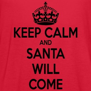 Keep Calm Santa - Women's Flowy Tank Top by Bella