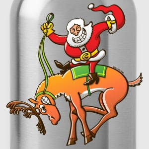 Christmas Rodeo T-Shirts - Water Bottle