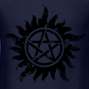 Anti-Possession Symbol Dark (Broken).png Long Sleeve Shirts - Men's T-Shirt