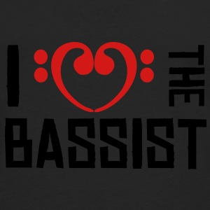 I love the Bassist Bags  - Men's Premium Long Sleeve T-Shirt