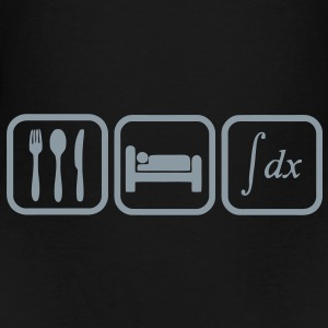 eat_sleep_calculate Bags  - Toddler Premium T-Shirt