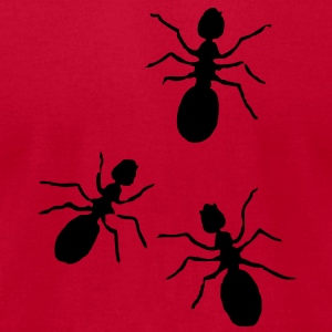 ants3 Sweatshirts - Men's T-Shirt by American Apparel