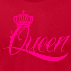 Queen Long Sleeve Shirts - Men's T-Shirt by American Apparel