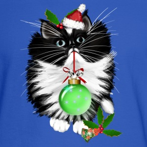A Tuxedo Merry Christmas - Men's Long Sleeve T-Shirt