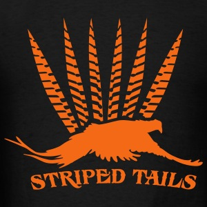 striped_tails Hoodies - Men's T-Shirt