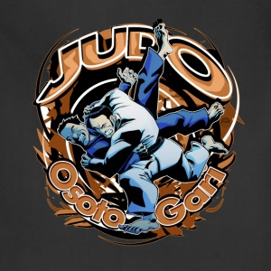 Judo Osoto Gari Kids T-shirt - Adjustable Apron