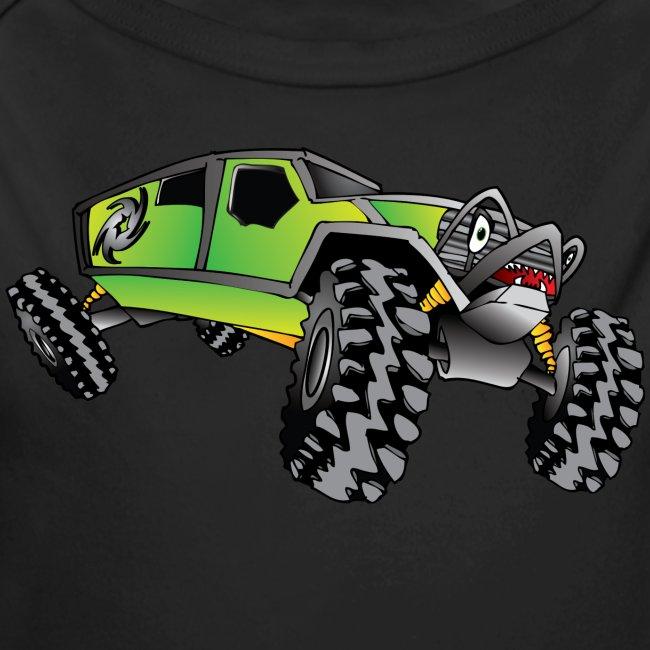 Cartoon Off-Road Monster Truck