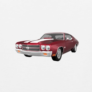 1970 Chevelle SS: Travel Mug - Men's Premium Tank