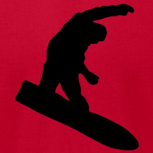 snowboard Hoodies - Men's T-Shirt by American Apparel