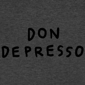 Don Depresso Flowy Tank Top - Men's V-Neck T-Shirt by Canvas
