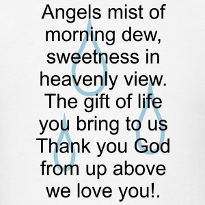 Angels mist of morning dew... - Men's T-Shirt