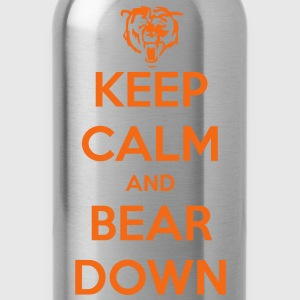 Keep Calm and Bear Down T-Shirts - Water Bottle
