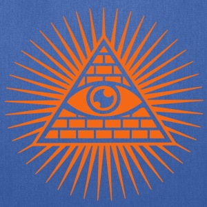 Eye in the Pyramid - symbol of Omniscience Women's T-Shirts - Tote Bag