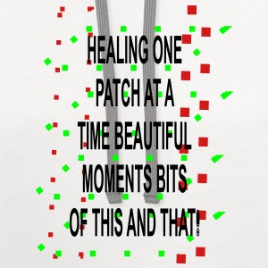 Healing moments bits of this and that - Contrast Hoodie