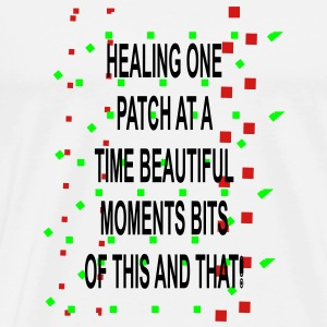 Healing moments bits of this and that - Men's Premium T-Shirt