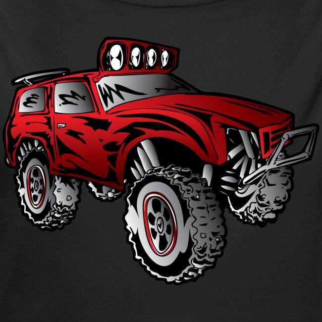 Cartoon Off-Road Race Truck