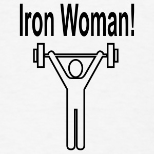 Iron Women - Men's T-Shirt